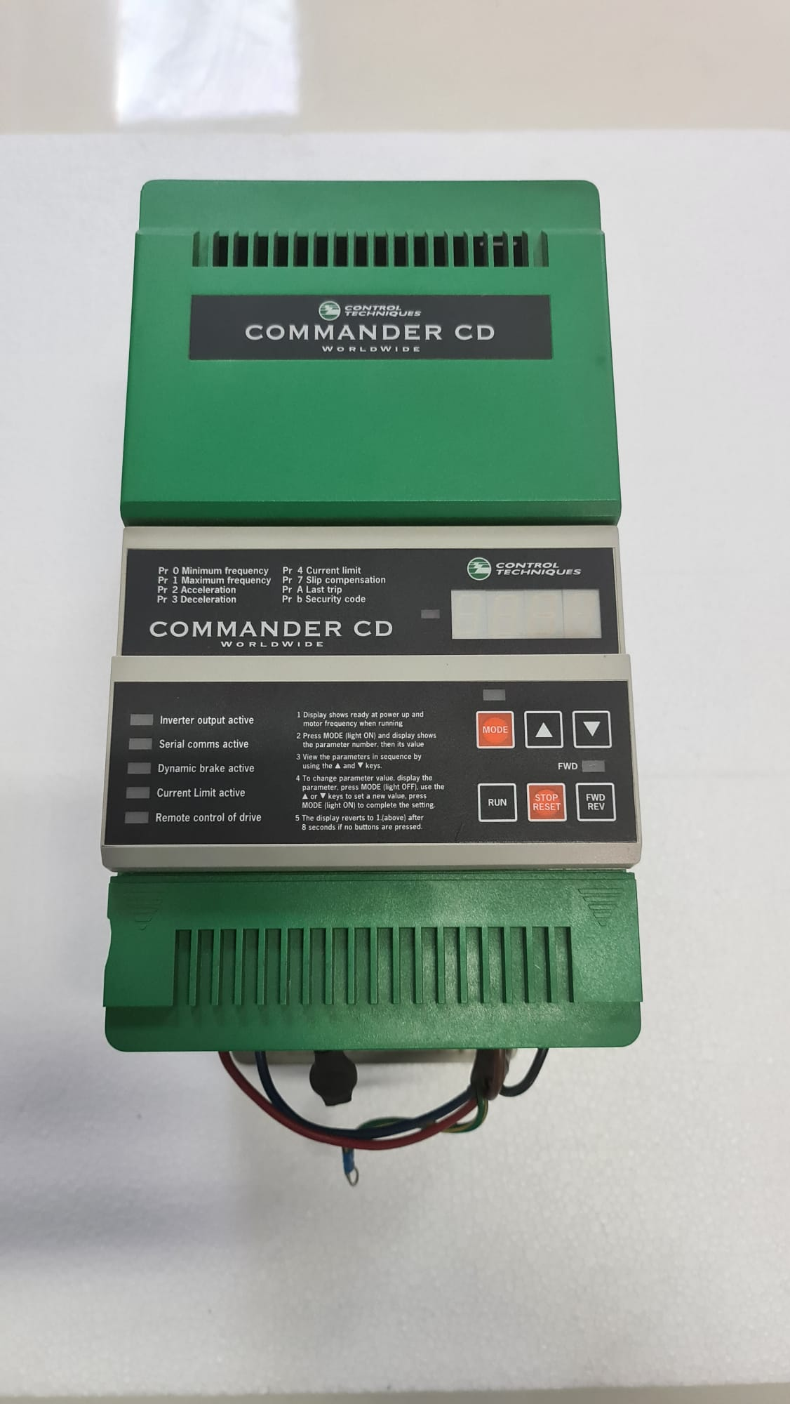 Control Techniques Inverter CDII 750 7.5 Kw